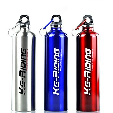 Бутылки для воды Велосипедный спорт / Велоспорт Нержавеющая сталь Красный / Синий / Серебряный / Серый