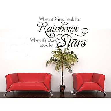 Home Decoration Quotes Wall Decals ZY8140 Living Room Wall Removable Vinyl Diy Wall Stickers