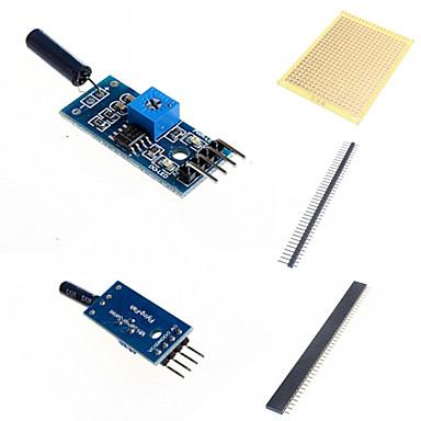 Schwingungssensor-Modul und Zubehör für Arduino