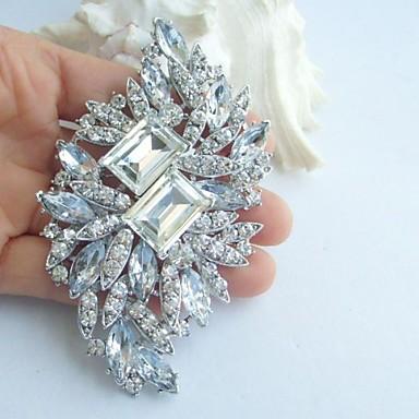 Ślubny Imitacja diamentu White Biżuteria Na Ślub Impreza Specjalne okazje Urodziny