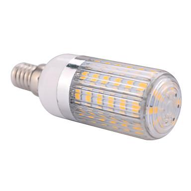 E14 LED лампы типа Корн T 60 светодиоды SMD 5730 Тёплый белый Холодный белый 1200lm 2800-3200/6000-6500K AC 220-240 AC 110-130V
