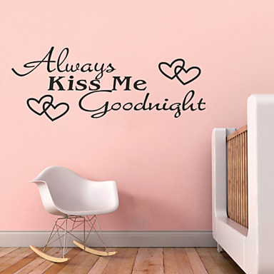 Words & Quotes Wall Stickers Plane Wall Stickers Decorative Wall Stickers, Vinyl Home Decoration Wall Decal Wall