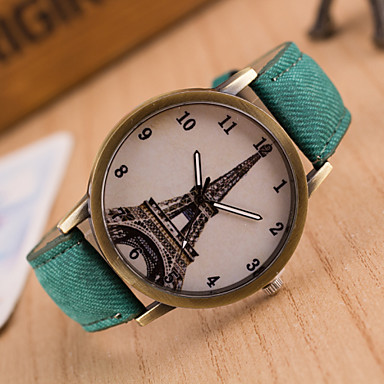 Kadın's Moda Saat Quartz PU Bant