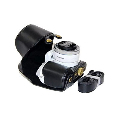 dengpin® pu bőr olaj a bőr levehető kamera tok táska samsung nx500 a 16-50mm objektív (vegyes színek)