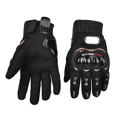 Motorrad-Handschuhe Vollfinger Polyurethan/Baumwolle/Nylon/ABS M/L/XL Rot/Schwarz/Blau