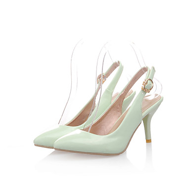 Vestido Verde Primavera 04802039 Hebilla Rosa Verano cms Tacón Almendra Stiletto 7 Semicuero Morado Casual 5 Mujer Chica Otoño Azul UwqBCwRY