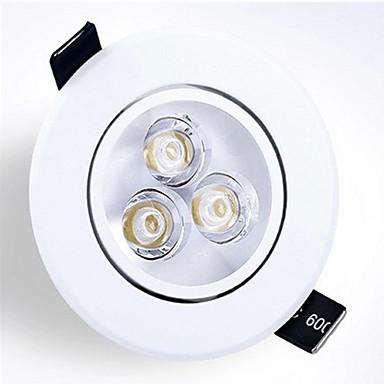 z®zdm 6W 550-600lm destek kısılabilir (220v) paneli ışıkları receseed ışıklar led