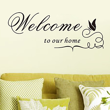 Home Quote Wall Decals ZY8181 Decorative Adesivo De Parede Removable Vinyl Wall Stickers