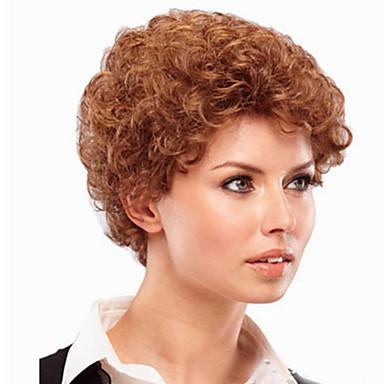 Γυναικείο Συνθετικές Περούκες Χωρίς κάλυμμα Ίσια #30 Απόκριες Περούκα Καρναβάλι περούκα κοστούμι περούκα φορεσιά περούκες