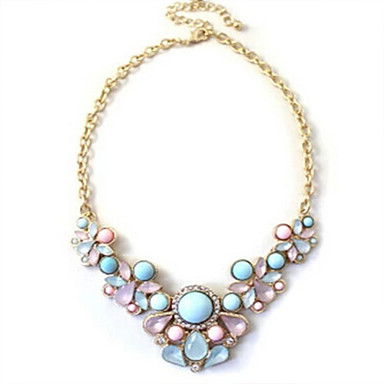 Women's Statement Necklace - Fashion Drop Necklace For Wedding Party Daily Casual