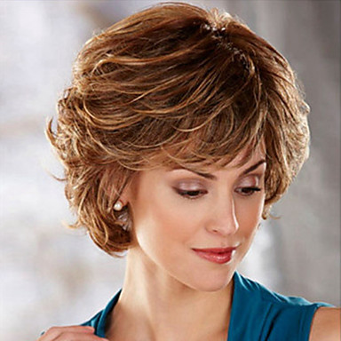 Wigs Body Wave Capless Costume Wig Brown