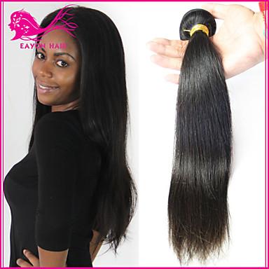 Brasiliansk hår Klassisk Ubehandlet hår 3 pakker Hårvever med menneskehår