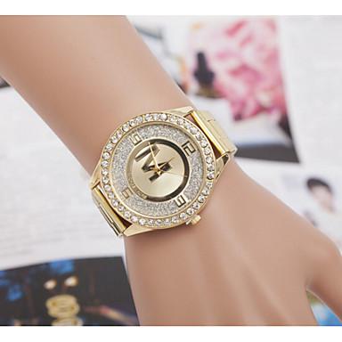 ecfca58c6b Dámské Hodinky k šatům Módní hodinky Náramkové hodinky Křemenný Slitina  Kapela Zlatá