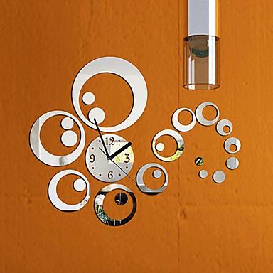 Modern/Çağdaş Aile Duvar Saati,Yuvarlak Diğerleri 16.5*16.5*0.2 İç Mekan Saat