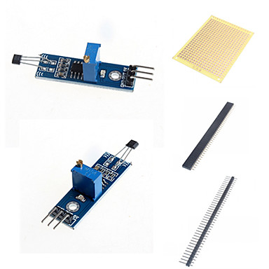 Hall-Sensormodul Sensormodul Schalter und Zubehör für Arduino