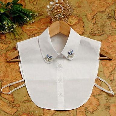 Damen Perle Kragen - Perle, Diamantimitate Luxus, Modisch Weiß Modische Halsketten Schmuck Für Besondere Anlässe, Geburtstag, Geschenk