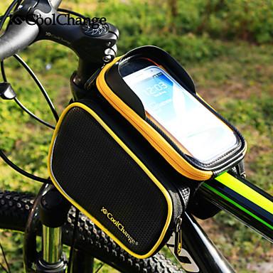 CoolChange Mobilveske / Vesker til sykkelramme / Sykling Ryggsekk 6.2 tommers Vanntett, Reflekterende, Berøringsskjerm Sykling til