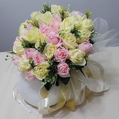 Esküvői virágok Csokrok Esküvő Party / estély Szatén 13,78