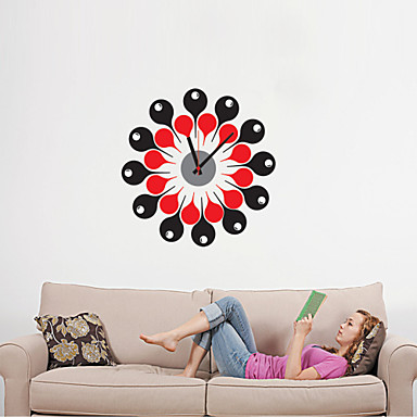 DIY 3D Cartoon Creative Wall Clock