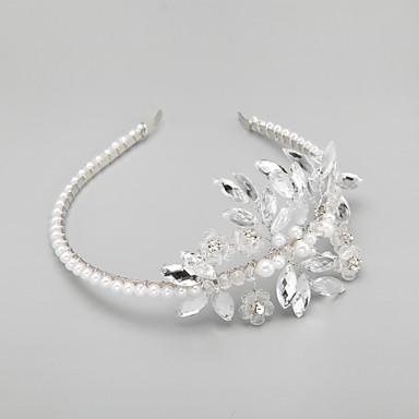 imitasjon perle rhinestone legering pannebånd headpiece elegant stil
