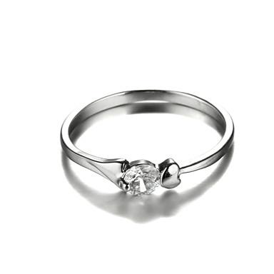 Массивные кольца Мода Цирконий Платиновое покрытие Бижутерия Для Свадьба Для вечеринок 1шт