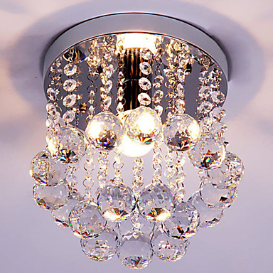 Modern/kortárs Hagyományos/ Klasszikus Retro Lámpás Ország Kuhinjski luster sa tri sijalice Gömb Kristály Mini stílus Mennyezeti lámpa