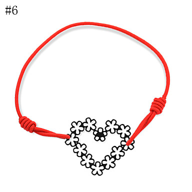 Damskie Serce Bransoletki Strand - Miłość LOVE 8# 9# 10# Bransoletki Na Impreza Codzienny Casual
