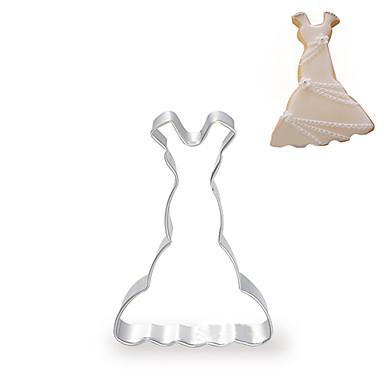 sleeved Fischschwanz Hochzeitskleid Prinzessin Kleid Ausstecher geschnitten Formen