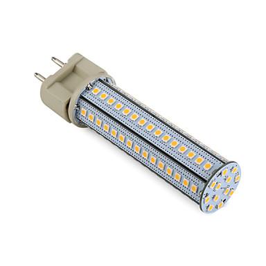 12W G12 LED kukorica izzók T 102 led SMD 2835 Dekoratív Meleg fehér Hideg fehér Természetes fehér 3000-7000lm 3000K-7000KK AC 85-265 AC