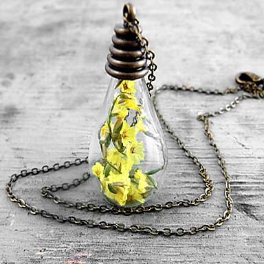 Naszyjniki z wisiorkami / Naszyjnik z medalionów / Naszyjnik w stylu vintage - Modny Yellow Naszyjniki Na Ślub, Impreza, Codzienny
