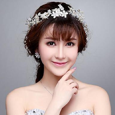Γυναικείο Απομίμηση Μαργαριτάρι Headpiece-Γάμος Ειδική Περίσταση Υπαίθριο Λουλούδια 1 Τεμάχιο
