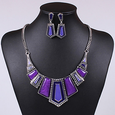 Women's Gemstone & Crystal Cubic Zirconia Alloy Vintage Cute Party Casual Cute Style Party Earrings Necklaces Costume Jewelry