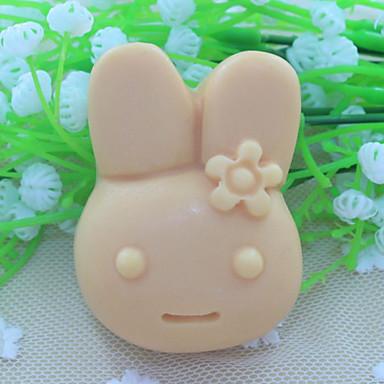 Tavşan fondan kek çikolata silikon kalıp, dekorasyon araçları bakeware
