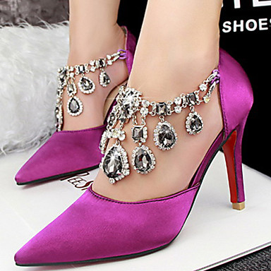 Chaussures à kitten heel argentées Fashion femme ayNSbl