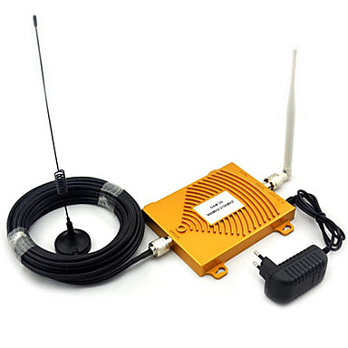 Buy GSM 900Mhz + 3G W-CDMA 2100MHz Dual Band Mini Signal Booster , 2G Mobile Phone Antenna