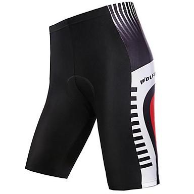 WOLFBIKE® Cuissard Rembourré de Cyclisme Femme / Homme / Unisexe Respirable / Séchage rapide / Compression VéloCuissard / Short /