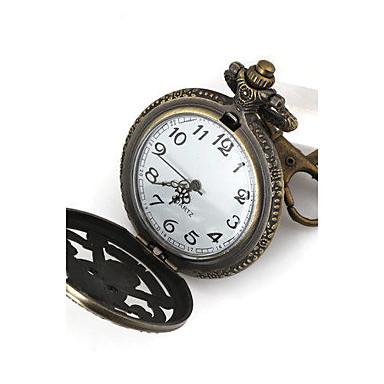Damskie Zegarek kieszonkowy Kwarcowy Pasmo Srebro