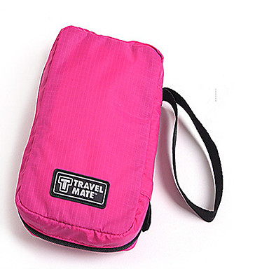 Women Nylon Casual Cosmetic Bag Multi-color