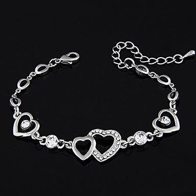 Chaînes & Bracelets Amour Mode Bijoux de Luxe Personnalisé Imitation Diamant Amour Bijoux Pour