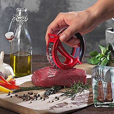48 ξυράφι τροχαίο tenderizer κρέας λεπίδες από ανοξείδωτο ατσάλι με προστατευτικό κάλυμμα (τυχαία χρώμα)