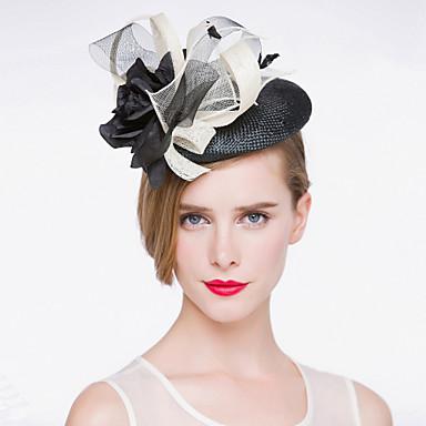 Dame Linfrø Headpiece Bryllup/Spesiell Leilighet Hatter Bryllup/Spesiell Leilighet 1 Deler