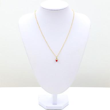 Жен. Мода европейский Ожерелья с подвесками Кристалл Стразы Искусственный бриллиант 18K золото Австрийские кристаллы Ожерелья с подвесками