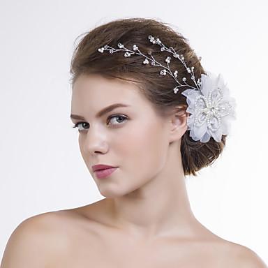 Γυναικείο Οργάντζα Headpiece-Γάμος Ειδική Περίσταση Λουλούδια 1 Τεμάχιο