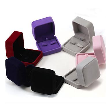 7 * 7 * 4cm naszyjnik pudełka z biżuterią 1szt elegancki klasyczny kobiecy styl