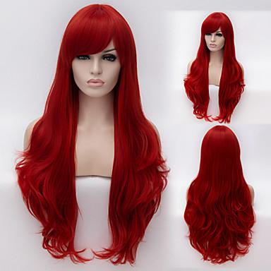필요한 유럽과 미국의 높은 품질의 고온 와이어 길이 곱슬 머리 가발 패션 소녀