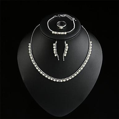 d1620bd9a72e aretes collares pulseras anillos de moda de las nuevas mujeres ...
