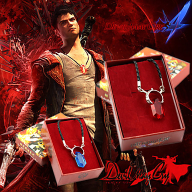 Jewelry Inspired by Devil May Cry Cosplay Anime / Video Games Cosplay Accessories Necklace Artificial Gemstones / Alloy Men's / Women's 855