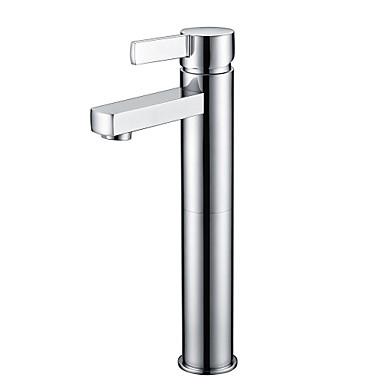 shengbaier współczesna chrom jeden otwór pojedynczy uchwyt łazience kran zlew