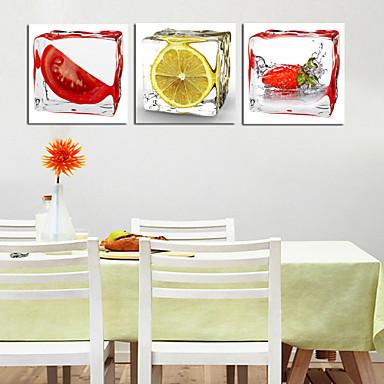스트레치 캔버스 프린트 정물 사진 3판넬 광장 벽 장식 홈 장식