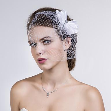 Tøy / Nett Birdcage slør med 1 Bryllup / Spesiell Leilighet / Avslappet Hodeplagg